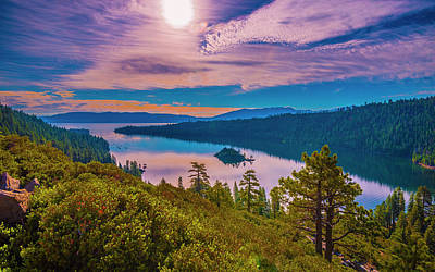 Photograph - Emerald Bay Ix by Steven Ainsworth