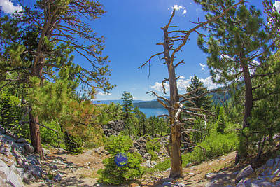 Photograph - Emerald Bay Lake Tahoe by Alexis Lee Scott