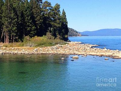 Painting - Emerald Bay Tahoe by Laurie Morgan