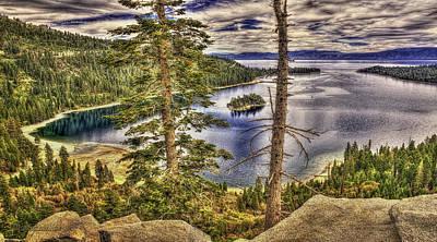 Photograph - Emerald Bay Lake Tahoe by LeeAnn McLaneGoetz McLaneGoetzStudioLLCcom