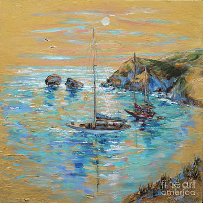 Painting - Emerald Bay by Linda Olsen