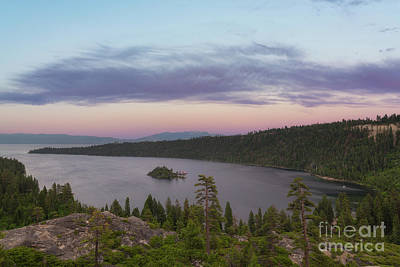 Photograph - Emerald Bay Overlook  by Michael Ver Sprill