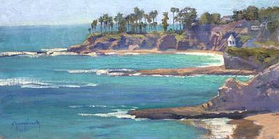 Painting - Emerald Bay by Sharon Weaver