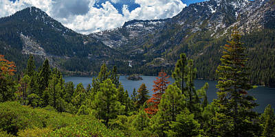 Photograph - Emerald Bay Spring Day By Brad Scott by Brad Scott
