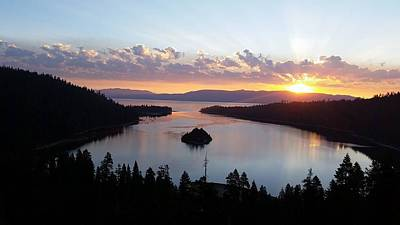 Emerald Bay Sunrise Art Print