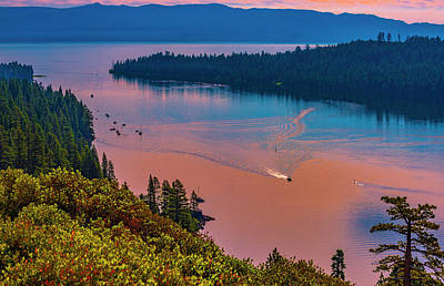 Photograph - Emerald Bay Vii by Steven Ainsworth