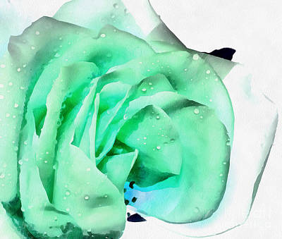 Digital Art - Emerald Bliss by Krissy Katsimbras