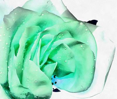 Digital Art - Emerald Bliss by Krissy Katsimbras