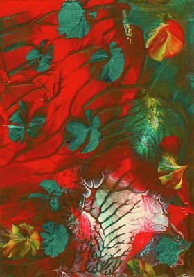 Emerald Butterfly Island Art Print