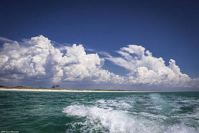 Photograph - Emerald Coast  by Debra Forand