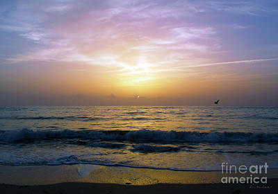 Photograph - Emerald Coast Florida Tropical Sunset Seascape B3 by Ricardos Creations