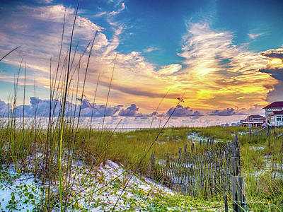 Photograph - Emerald Coast Sunset by Timothy Harris