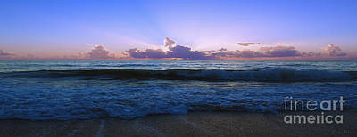 Photograph - Treasure Cost Florida Tropical Sunrise Sescape B2 by Ricardos Creations