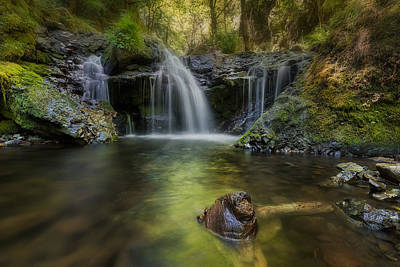 Scenic Photograph - Emerald Falls by David Gn