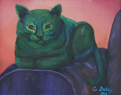 Painting - Emerald by Gail Daley