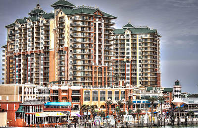 Photograph - Emerald Grande At Harborwalk Village by Debra Forand