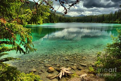 Photograph - Emerald Green At Jasper National Park by Adam Jewell