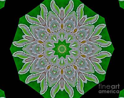 Emerald Green Art Print by Marsha Heiken