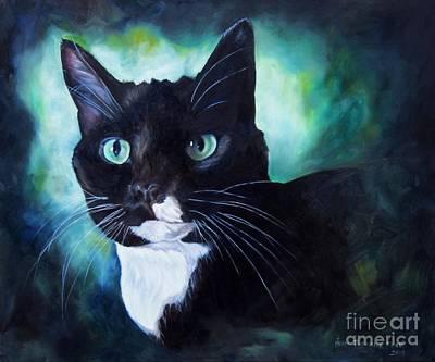 Painting - Emerald by Heidi Parmelee-Pratt