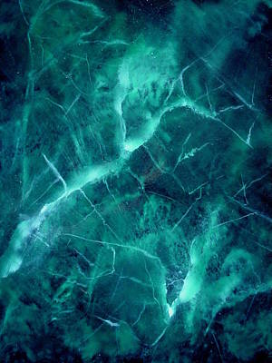 Photograph - Emerald Ice by Renee Holder