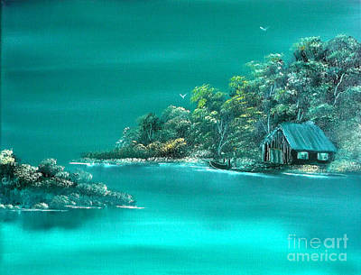 Painting - Emerald Isle 2 by Cynthia Adams