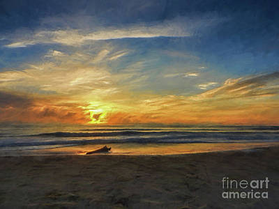Photograph - Emerald Isle, N C by Mim White