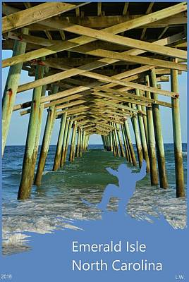 Photograph - Emerald Isle North Carolina Surfs Up by Lisa Wooten