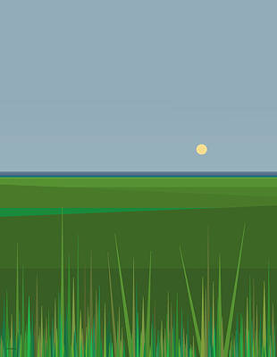 Digital Art - Emerald Isles by Val Arie