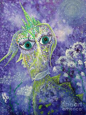 Painting - Emerald by Julie Engelhardt