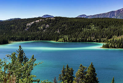 Photograph - Emerald Lake 2 by Ed Clark