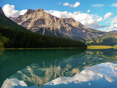 Photograph - Emerald Lake by Adrian O Brien