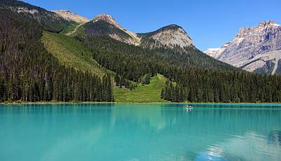 Photograph - Emerald Lake, British Columbia by Heather Vopni