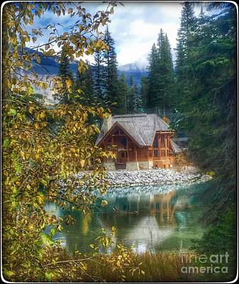 Photograph - Emerald Lake Canada by Susan Garren