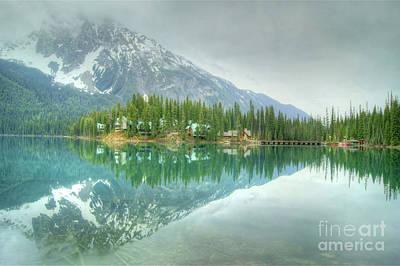 Photograph - Emerald Lake by David Birchall