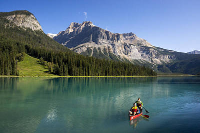 Photograph - Emerald Lake by Inge Riis McDonald