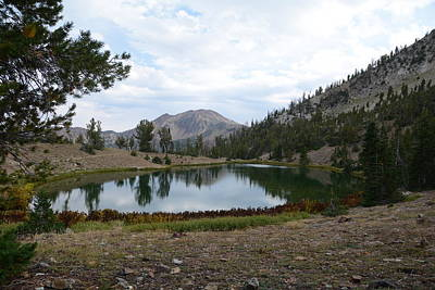 Photograph - Jarbidge Wilderness Emerald Lake by Jenessa Rahn
