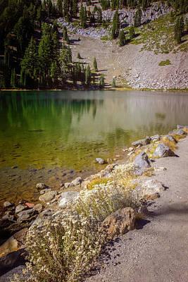 Photograph - Emerald Lake Lassen Volcanic Park by LeeAnn McLaneGoetz McLaneGoetzStudioLLCcom