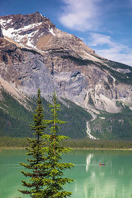 Photograph - Emerald Lake by Mark Mille