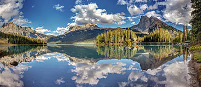Photograph - Emerald Lake Panorama by Pierre Leclerc Photography
