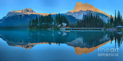 Photograph - Emerald Lake Panoramic Reflections by Adam Jewell