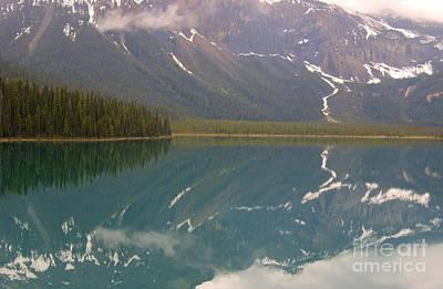 Photograph - Emerald Lake Reflections by David Birchall