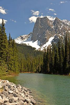 Emerald Lake Vista Art Print