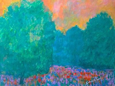 Painting - Emerald Mist by Kendall Kessler