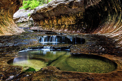 Photograph - Emerald Pool by James Marvin Phelps