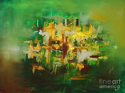 Painting - Emerald by Preethi Mathialagan