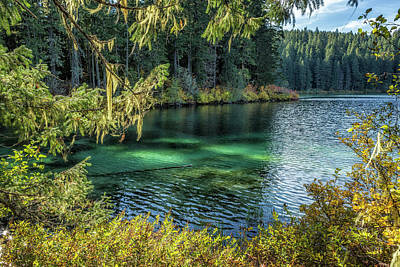 Photograph - Emerald Tones Of Clear Lake by Belinda Greb