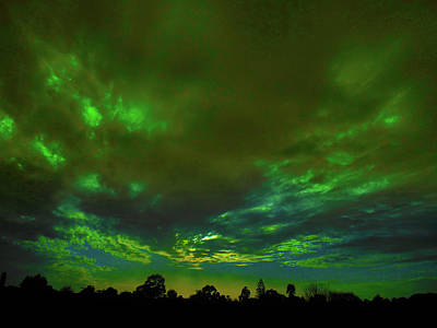 Photograph - Emerald Twilight by Mark Blauhoefer