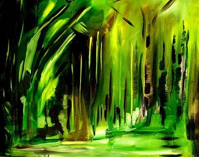Emerald Vision Art Print by Ellen Seymour