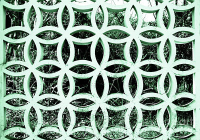 Photograph - Emerald Window 2 Angeloff J by Joy Angeloff