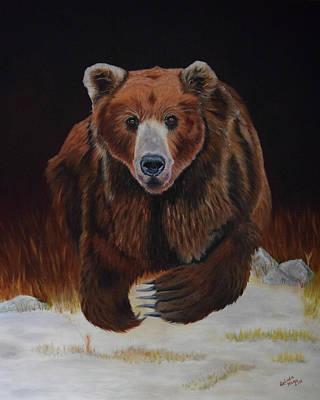 Kodiak Alaska Painting - Emergence by Belinda Nagy